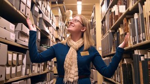 Allison Haak Library Assistant -- An IRL Simpson Success Story