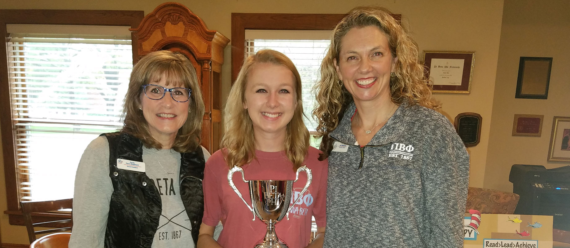 Simpson's Pi Beta Phi Named  Top Chapter in Country