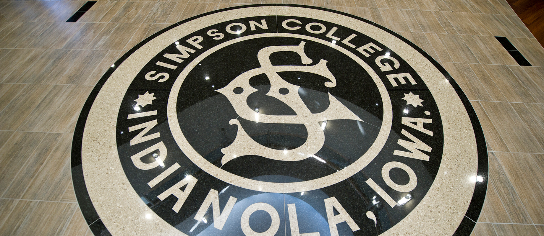 College seal in Kent
