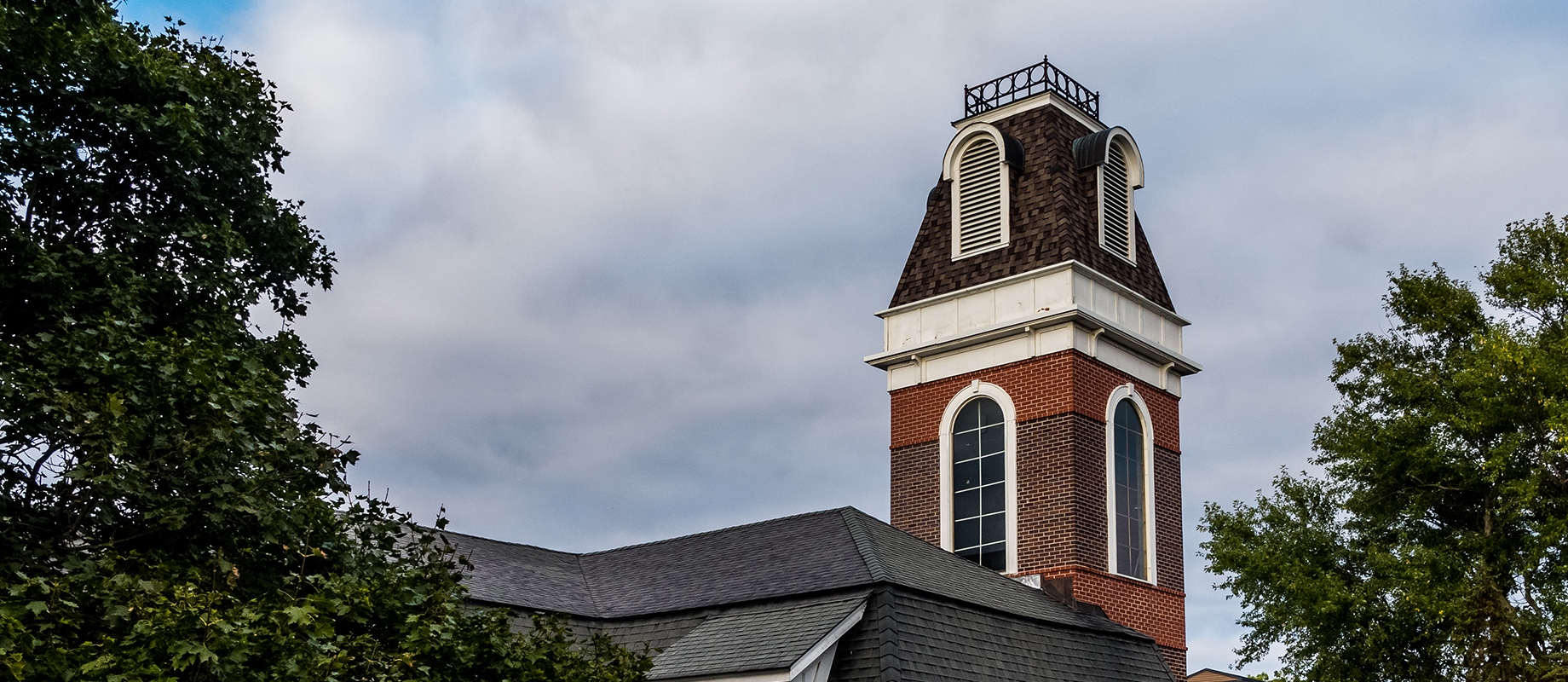 Bell tower at Simpson College