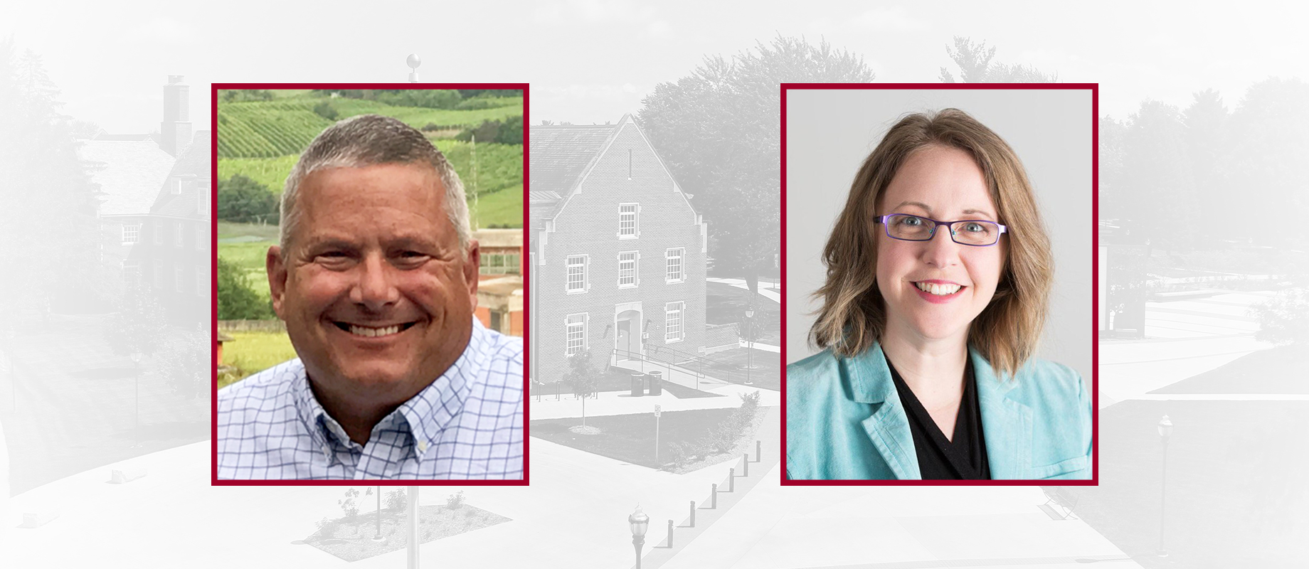 Bill Northey and Jennifer Zwagerman