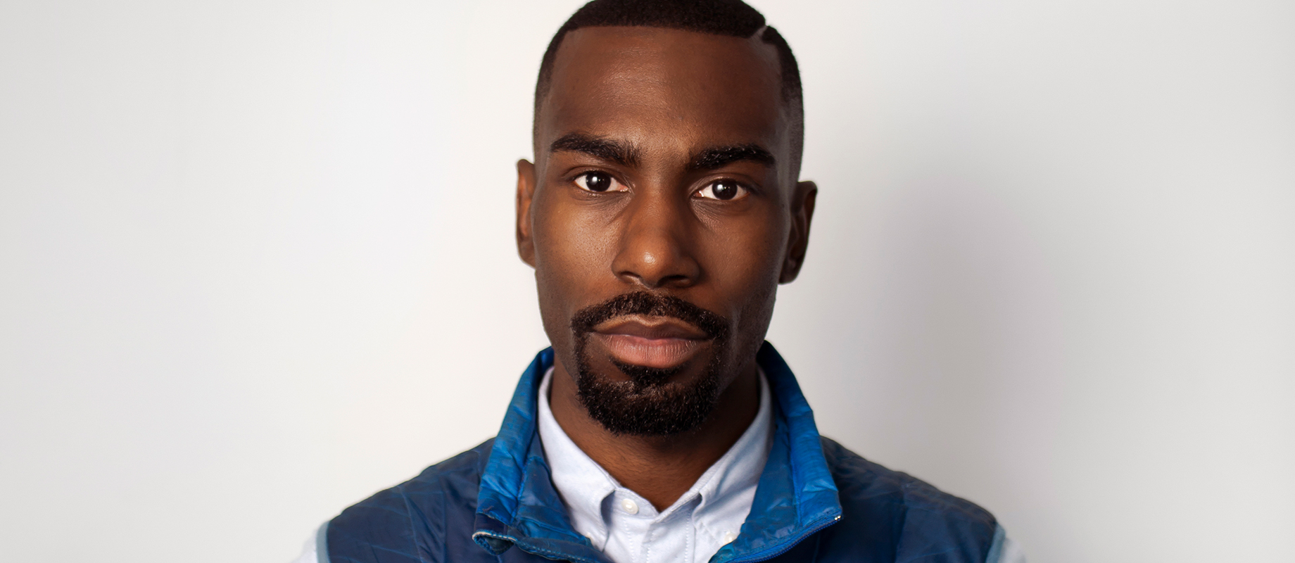 "Photo of DeRay Mckesson, civil rights activist and host of the weekly podcast ""Pod Save the People"""