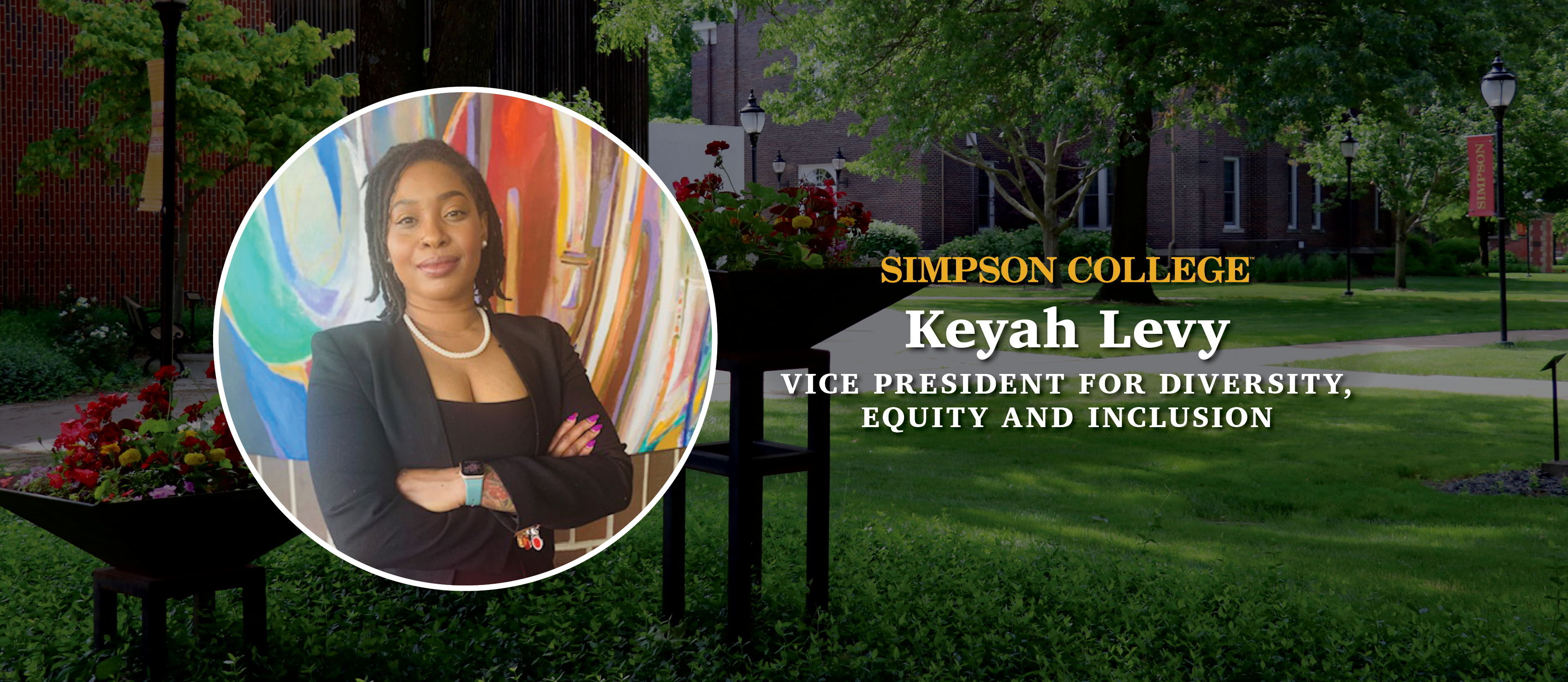 Simpson College announces new vice president for diversity, equity and inclusion