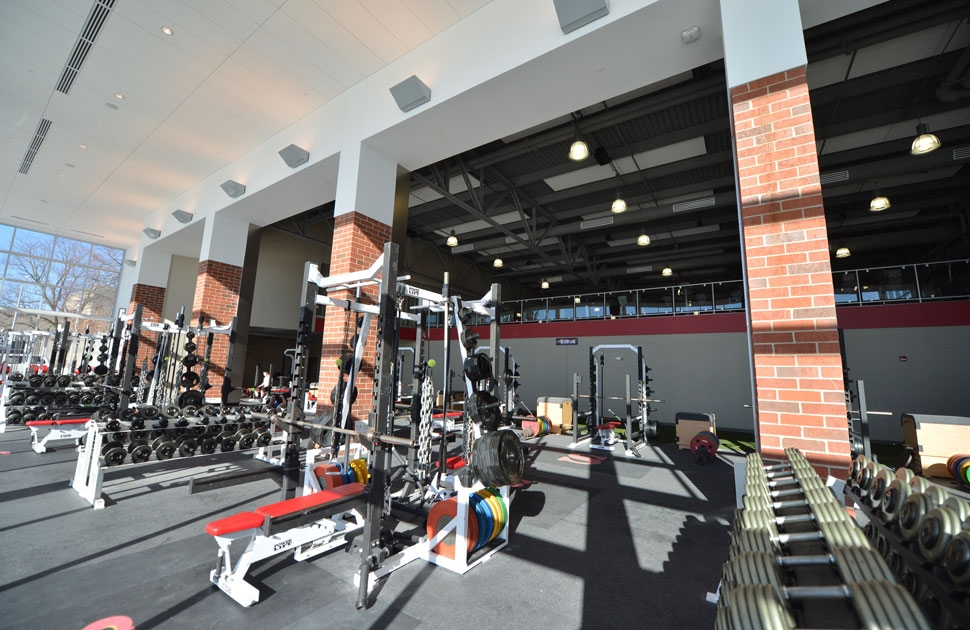 lower level weight room